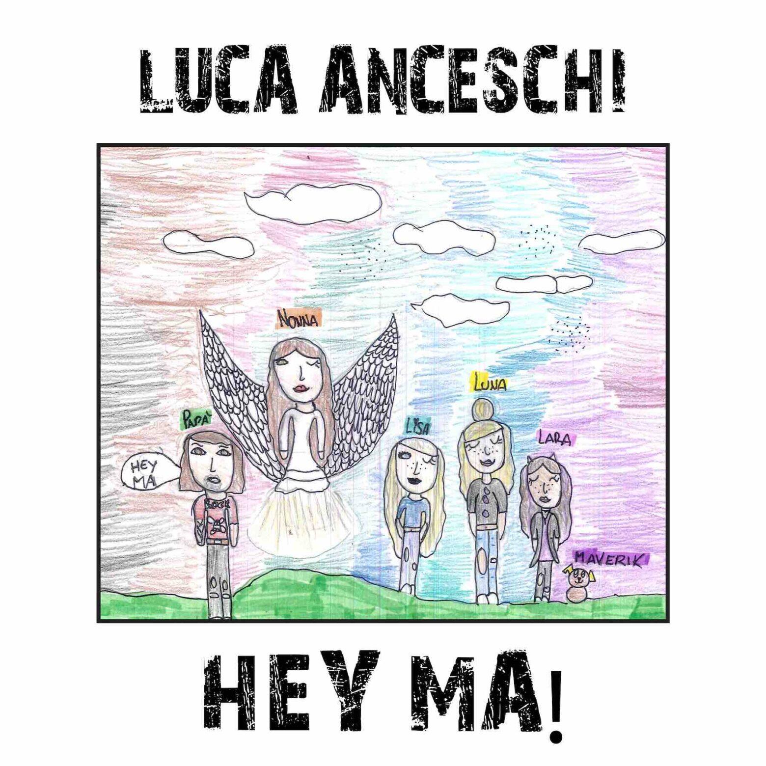 """""""Hey Ma!"""", il nuovo singolo di Luca Anceschi scritto insieme a Domenico Castaldi e suonato anche da Lenny Ligabue"""