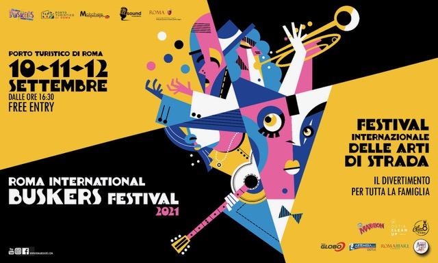 BUSKERS FESTIVAL dal 10 al 12 settembre al Porto Turistico di Roma con circensi, giocolieri e cantautori